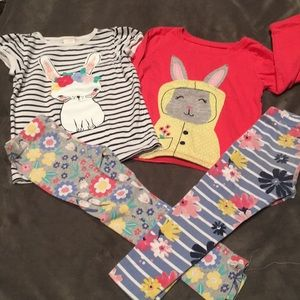 Matching bunny sets 3T